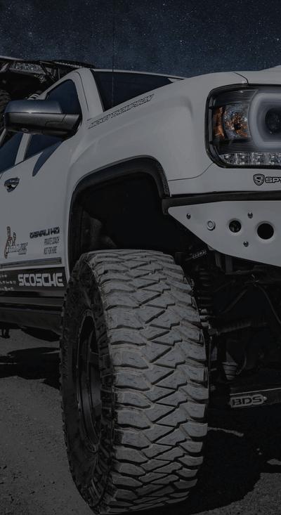 White Car Tire - Spokane Mobile Tire & Wheel